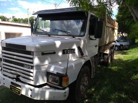 Scania 112/ Caçamba Traçada Ano 90 Toda Revisada