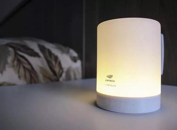 Caixa De Som Ideal Para Bebes Dormirem Bluetooth/luminária