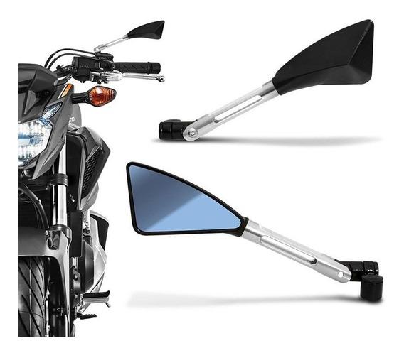 Retrovisor Moto Esportivo Tipo Rizoma Hornet Cb1000 Z800 Xj6