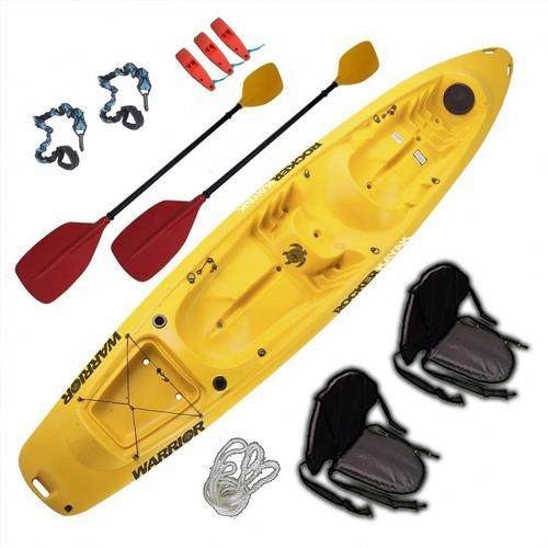 Kayak Rocker Combo 2 Warrior 3 Personas Premium Freeterra!!