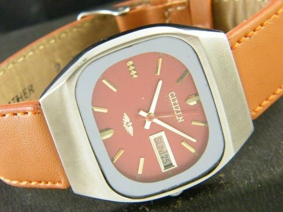 Relógio Citizen Automático 8200a Japão Masculino Dia/data