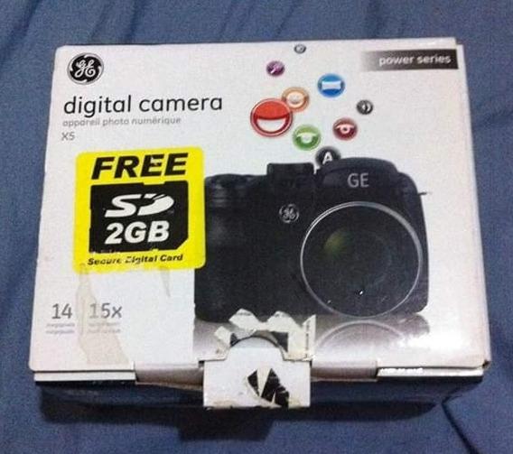Vendo Câmera Digital Ge X5 Semiprofissional.