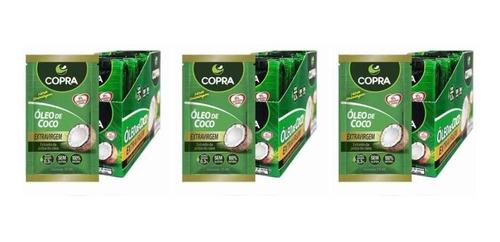 Imagem 1 de 1 de Copra Óleo De Coco Extra Virgem Sachê 40x15ml (kit C/03)