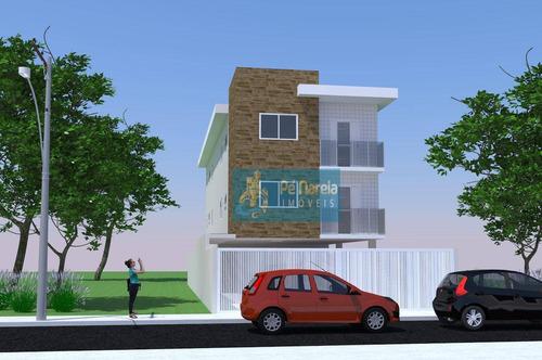 Imagem 1 de 7 de Casa Com 2 Dormitórios À Venda, 52 M² Por R$ 250.000 - Jardim Guassu - São Vicente/sp - Ca0221