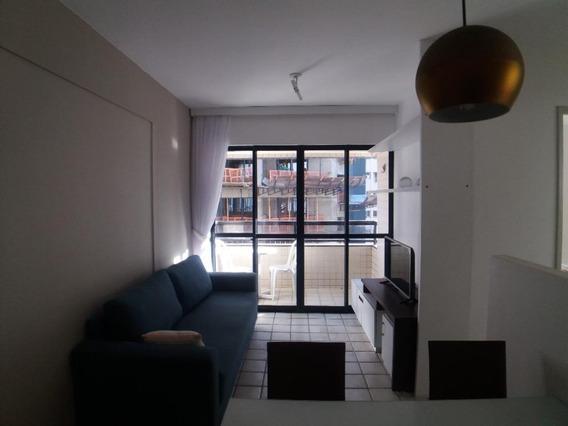 Apartamento Com 1 Quarto Para Alugar, 40 M² Por R$ 2.000/mês - Pina - Recife/pe - Ap2122