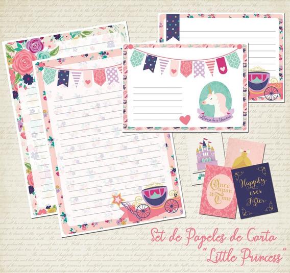 Set Papeles De Carta - Ideal Souvenir - Regalo!