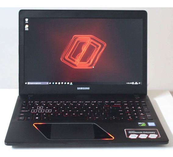 Notebook Samsung Odyssey I7 8gb 1tb + Alphanum + 4gb Dedic