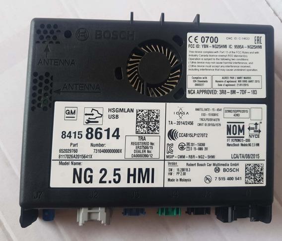 Modulo Interface E Sistema Navegação Gm My17 Nav Sa 84158614