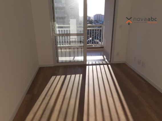 Apartamento Com 2 Dormitórios Para Alugar, 60 M² Por R$ 1.650,00/mês - Vila Apiaí - Santo André/sp - Ap0886