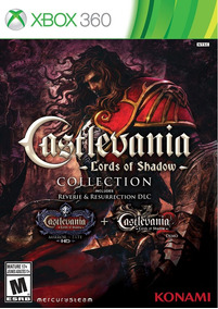 Castlevania Lords Of Shadown Collection   Xbox 360 M. Fisica
