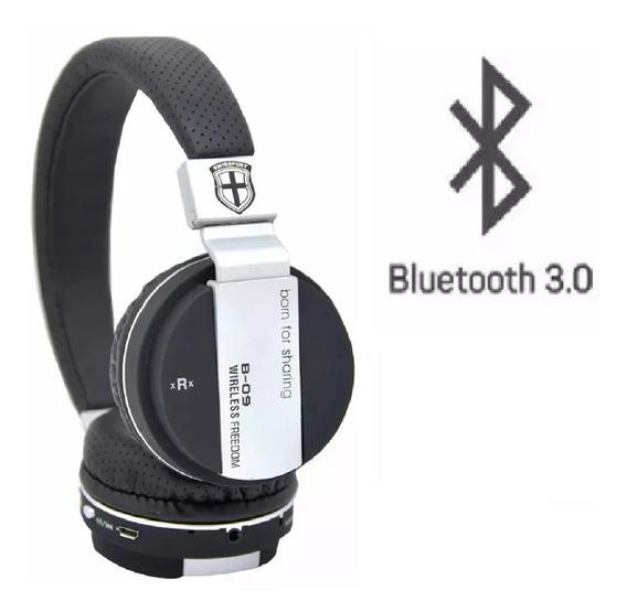 Fone Bluetooth Jb900 Micro Sd S\fio Grátis Cabo P2 E Usb