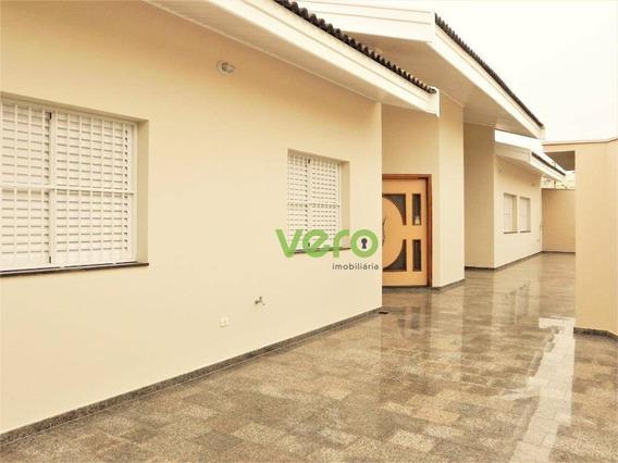 Casa Com 3 Dormitórios Para Alugar, 220 M² Por R$ 3.600/mês - Parque Residencial Nardini - Americana/sp - Ca0143