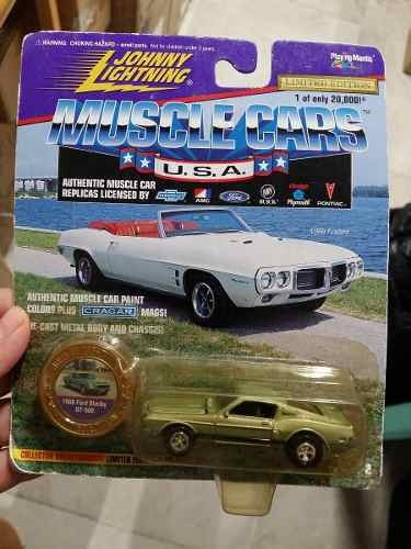 Johnny Lightning - Muscle Cars - 1968 Ford Shelby Gt - 1:64