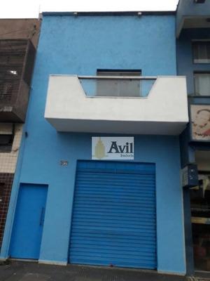 Loja Comercial Para Venda E Locação, Centro, Santo André. - Lo0002