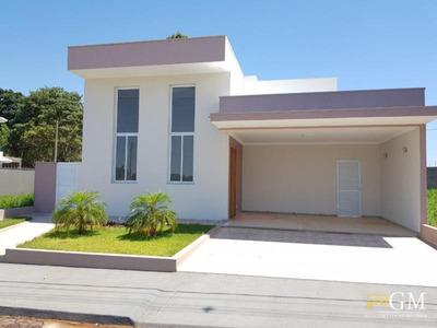 Casa Em Condomínio Para Venda Em Álvares Machado, Condomínio Residencial Izabel Mizobe, 3 Dormitórios, 2 Suítes, 3 Banheiros, 2 Vagas - Cc0056