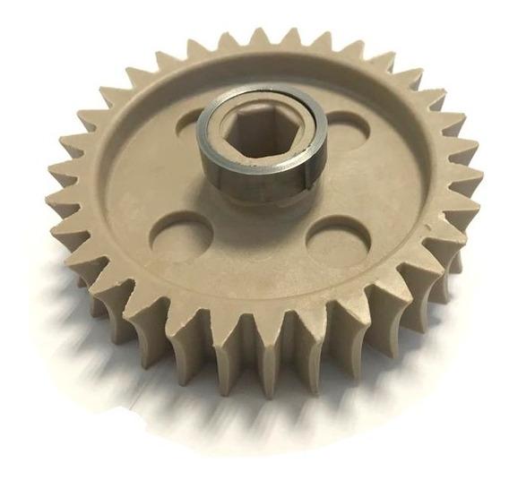 Engrenagem 32 Dentes Anodilar Reforçada Com Anéis De Ferro