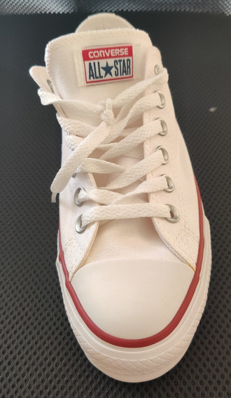 Tênis All Star Converse Ct0495 Plataforma Branco - Feminino