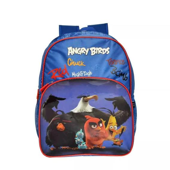 Mochila Angry Birds Abm801302 , Poliéster,
