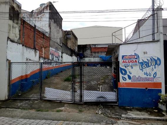 Terreno Para Alugar, 250 M² Por R$ 2.500,00/mês - Centro - Guarulhos/sp - Cód. Te0313 - Te0313