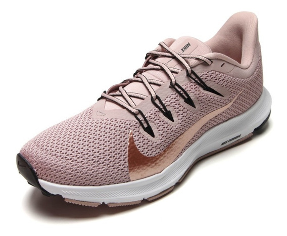 Tenis Nike Quest 2 Feminino Stone Rosa Original + Nf Ci3803