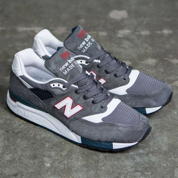 New Balance 998 Mejor 574 Made In Usa! Cuero Gamuza 10us