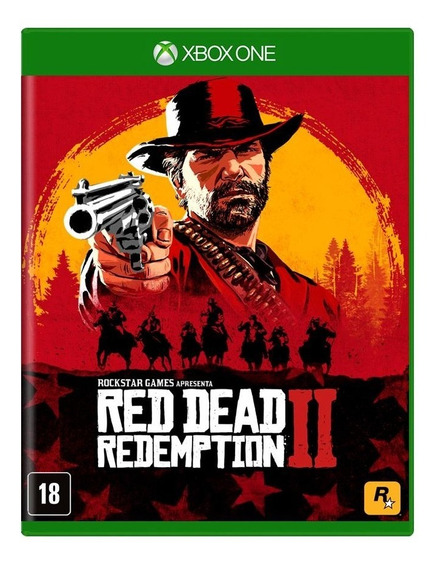 Red Dead Redemption 2 Xbox One Mídia Física Pronta Entrega!
