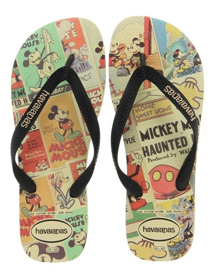 Sandália Havaianas Disney Stylish Mickey