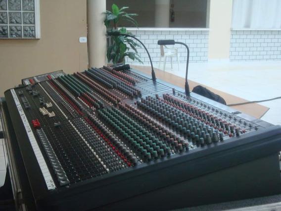 Mesa De Som Crest Audio Century Tc 40 Canais