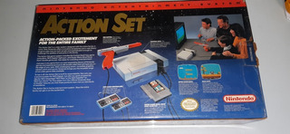 Consola Nintendo 1985 Action Set Nes