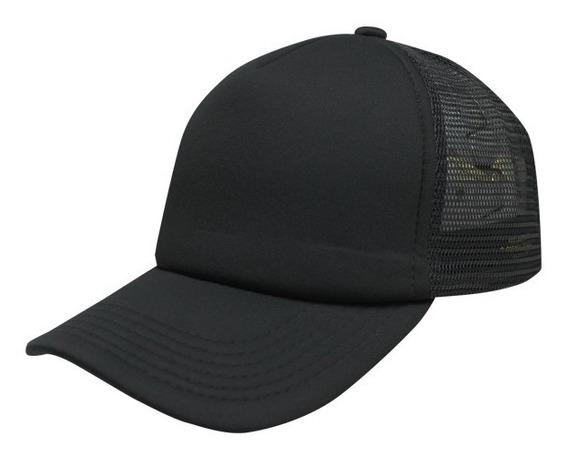 Gorra Sc Trucker Negro/negro Unitalla