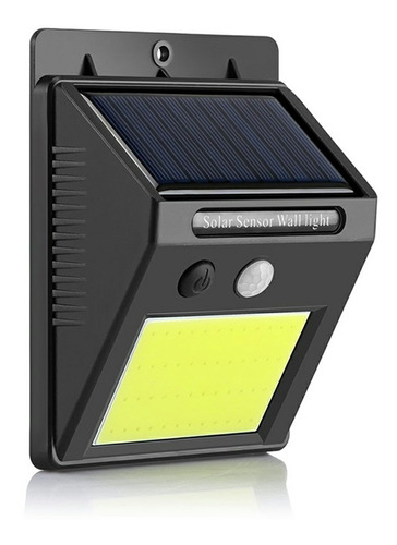 Lampara 48 Led Con Panel Solar Sensor Movimiento Impermeable