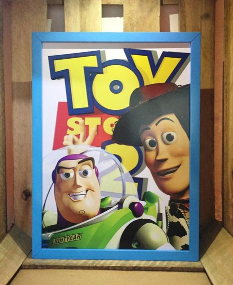 Poster Toy Story 2 Disney Pixar Quadro Decorativo