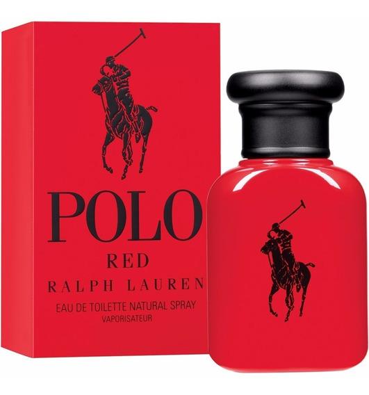 Polo Red Eau De Toilette 40ml Ralph Lauren 100% Original