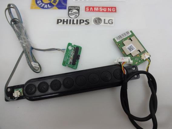 Kit Teclado Sensor Do Cr Wifi Tv 55la6210 Testados