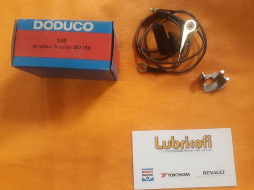 Platino Doduco 548 Ducellier Peugeot 505