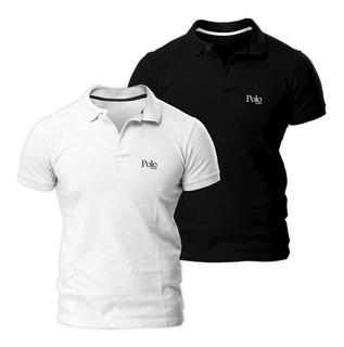 Kit Com Duas Camisas Polo Piquet Slim Fit - Polo Match