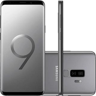 Samsung Galaxy S9 Plus G9650/ds 128gb Cinza Original
