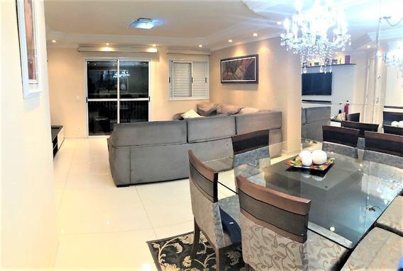 Apartamento Para Venda Ou Permuta (92m²) - 2 Dormitórios, 1 Suíte, Sala Ampliada, Terraço Gourmet, Aquecimento A Gás E 2 Vagas - Jd. Henriqueta, Taboão Da Serra - Sp. - Ml646