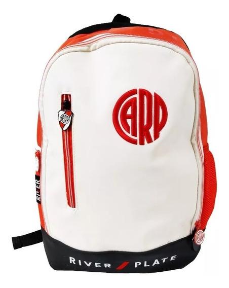 Mochila River Plate C/bolsillo Original Ri-113 16 Pulgadas