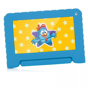 Tablet Galinha Pintadinha Multilaser Azul Wifi Android 4.4
