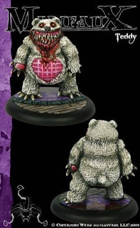 Wyrd Miniatures Malifaux Neverborn Teddy Model Kit [parallel