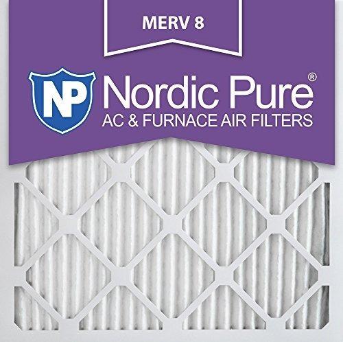 Nordic Pure 14x14x1m8-2 Merv 8 Ac Filtro De Horno 14x14x1 Pl
