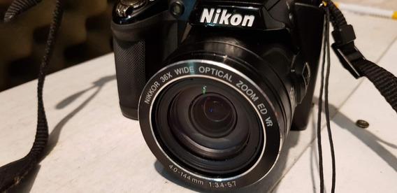 Câmera Fotográfica Semi Profissional Nikon Coolpix P500