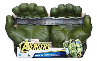 Hulk Super Puños Gamma Avengers Marvel E0615 Hasbro