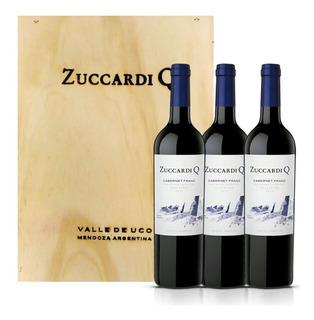Vino Zuccardi Q Cabernet Franc 750ml Santa Rosa X3 Unidades