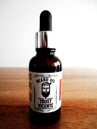 Aceite De Crecimiento De Barba Tamaño Xl 30ml Trust Vicente