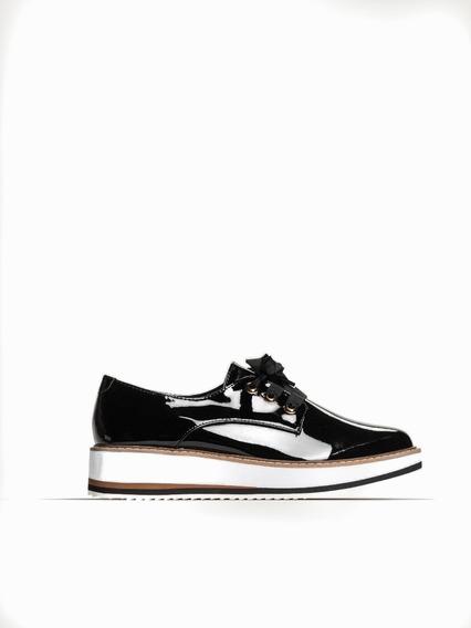 Zapato Prune Molly Abotinado