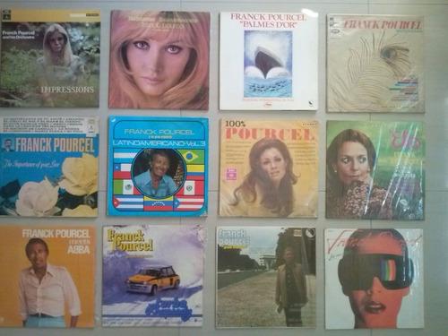 Discos Vinilo Coleccion De  Orquesta De Frank Pourcel