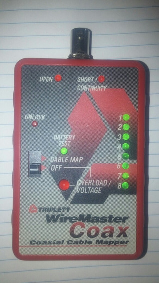 6 Way Coaxial Cable Mapper Finder -tracker Tracer Toner- Cct