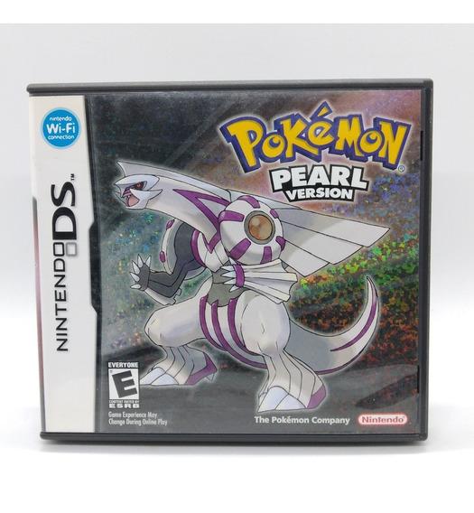 Pokemon Pearl Version Nintendo Ds Midia Fisica Nds Americano
